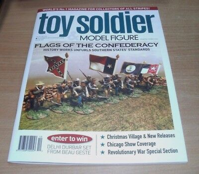 Toy Soldier & Model Figure magazine #229 DEC/JAN 2018 Flags of the Confederacy