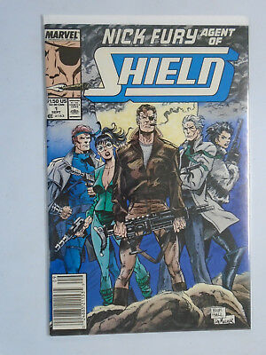 Nick Fury Agent of SHIELD (3rd Series) #1, 8.5/VF+ (1998)