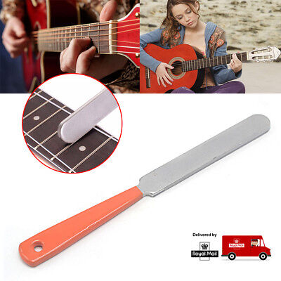 New Narrow Guitar Fret Crowning Luthier File Dual Cutting Edge Tool High Quality
