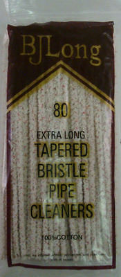 """80 Pack of BJ Long 6½"""" Long Bristle Scrubbing Tapered Pipe Cleaners - 1248"""
