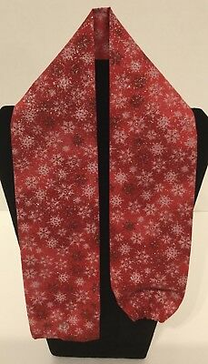 Red Sparkley Snowflake  MD RN EMT LPN Stethoscope Cover Buy 3 GET FREE SHIPPING