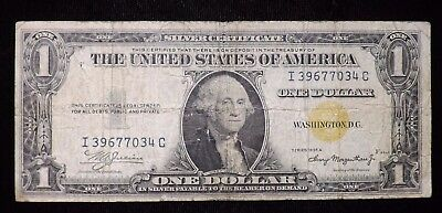 1935 A $1 Dollar North Africa Silver Certificate Paper Note  Circulated