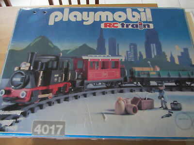 Playmobil Rc Train 4017