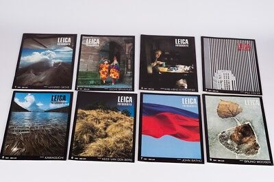 Leica Fotografie  complete year 8 magazines 1981  German Edition