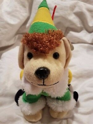 2015 Raising Cane's Limited Edition Elf Movie Plush Elf Puppy with Tag