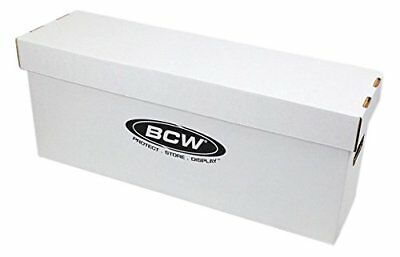 BCW Long Comic Book Storage Box Comics Storage - Holds 200-225 Comics