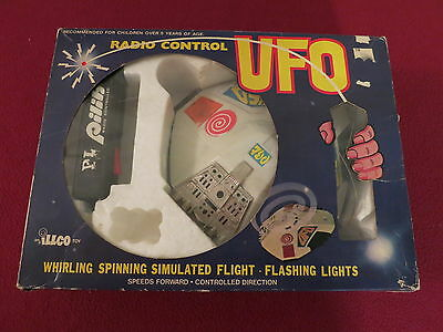 "VINTAGE RADIO CONTROLED "" UFO "" by ILLCO  1960's to 1970's"