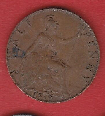 Great Britain Half Penny1910