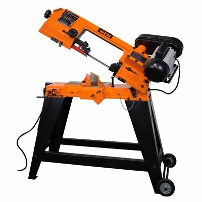 Metal-Cutting Band Saw with Stand WEN 4.6 Amp 4 in. x 6 in. NEW Construction