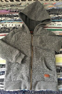 7 For All Mankind Hoodie Sweatshirt  2T Toddler Grey Marl. Ships FREE!
