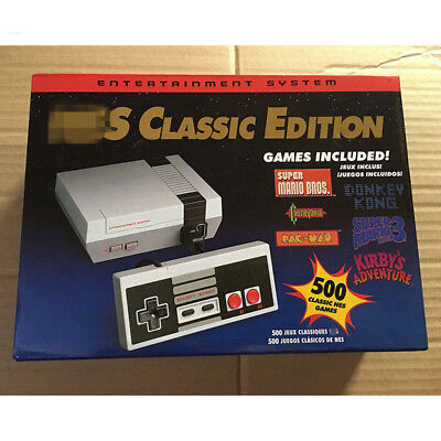 For NES Mini Classic Edition Games Console with 500 Classic Nintendo Games