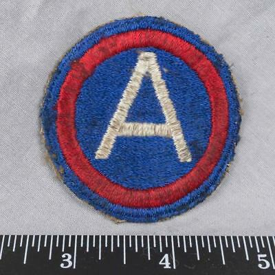 Vintage WWII Korean War Era US Army 3rd Army Patch ajd