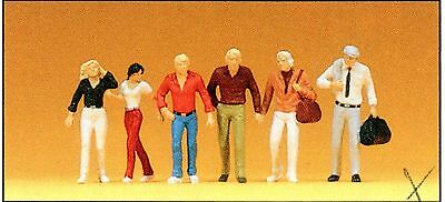 Going passenders PREISER FIGURINES 74001 Scale 1:100 Architectural Model OB