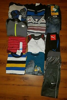 NWT Huge Boys' Fall/ Winter Clothes Lot ~ Size 5/6 6~ Pants Sweaters L/ S Shirts