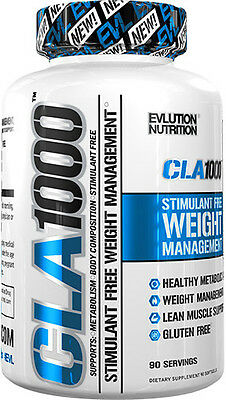 EVLUTION NUTRITION EVL CLA 1000 180 Caps lean Fat Burner mode mrm FREE POST