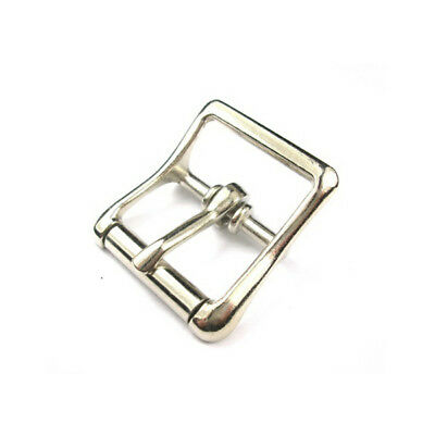 "10 x 1"" - HIGH QUALITY ROLLER BUCKLES NICKEL PLATED"
