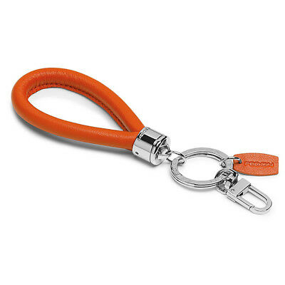 NEW Fedon Nappa Key Holder Orange