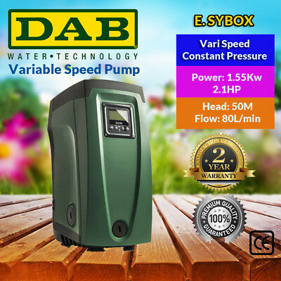 D.A.B. Variable Speed Constant Pressure System E.SYBOX