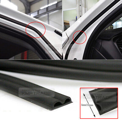 Car Door Auto Noise Rubber Wind Seal Strip 1ea B type For HYUNDAI 2011-17 Accent