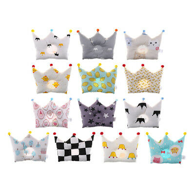 Newborn Baby Soft Cotton Pillow Infants Anti-rollover Head Positioner Shaping