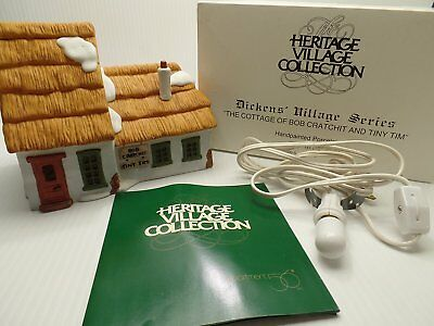 """Department 56 Heritage Village Collection Dickens Village Series """"The Cottage of"""