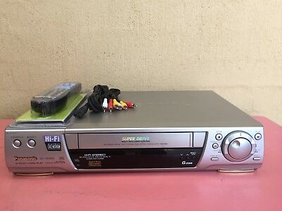 Serviced Panasonic NV-HD680 Stereo Video Recorder Player REMOTE VHS Player VCR