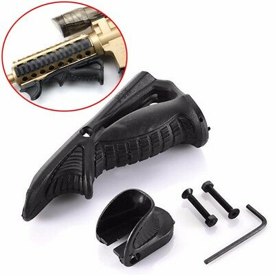 Ergonomic Forward Hand Stop Angled Foregrip Handle Grip for 20mm Picatinny Rail