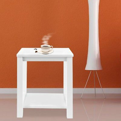 Wood Small Pine Side Tables Bedside Table Bedside Cabinets Nightstand White