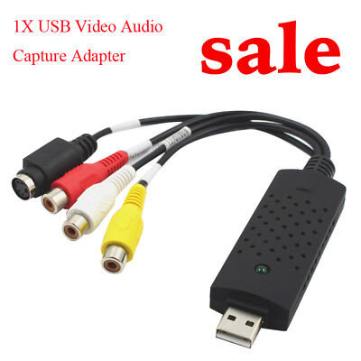 USB 1 Channel 3 Chips Acquisition Card USB Video Capture Card For Windows Good