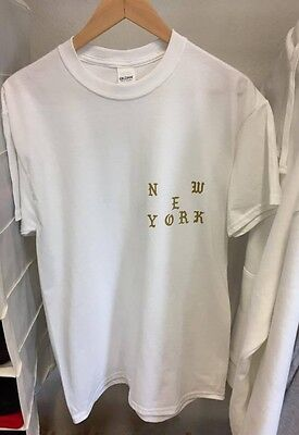 Tour Merch Kanye West Pablo New York NYC Shirt Tee Neu Top I feel like SIZE S-XL