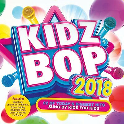 Kidz Bop - Kidz Bop 2018 Biggest Hits by Kids for Kids Audio CD