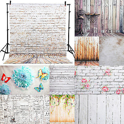 15 Type 0.9x1.5m/1.5x2.1m Toile de Fond de Studio Vinyl Backdrop Photographie