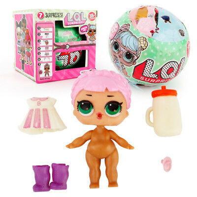 SERIES 2 LOL Surprise DOLL 7 Layers Big Sisters Outrageous Kids Cute Ball Gift