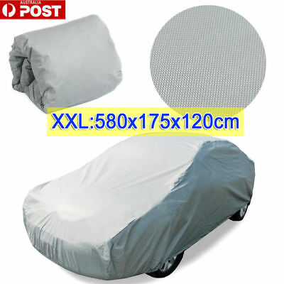 XXL Large Full Car Cover Waterproof Anti UV Dust Scratch Resistant Protection