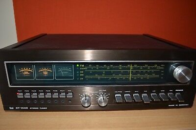 DUAL CT 1440 Hifi Stereo High End Tuner Vintage