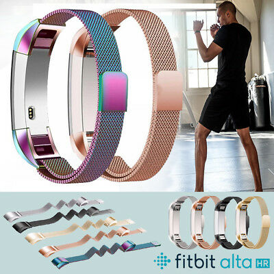 Stainless Steel Replacement Spare Band Strap Wristband for Fitbit Alta / Alta HR