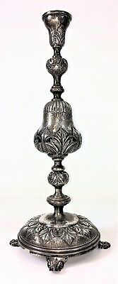 Chandelier Of One Light. Hand-Shaped Silver. Spain. 19Th-20Th Centuries