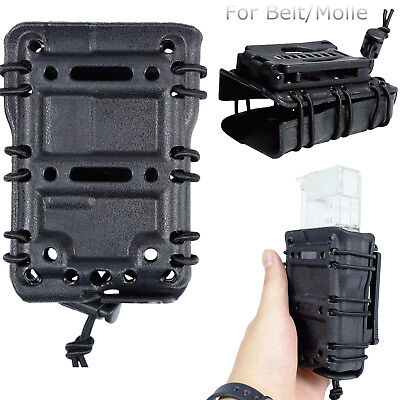 Magazine Pouch 45ACP 5.56 7.62 9MM Pistol Mag Carrier Holster For Belt Molle
