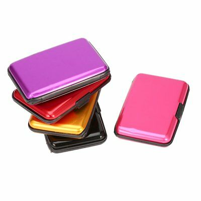 Waterproof Business ID Credit Card Wallet Holder Aluminum Metal Case Box Pocket