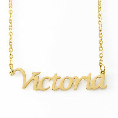 Erin Name Necklace Stainless Steel// 18ct Gold PlatedValentines Gift For Her