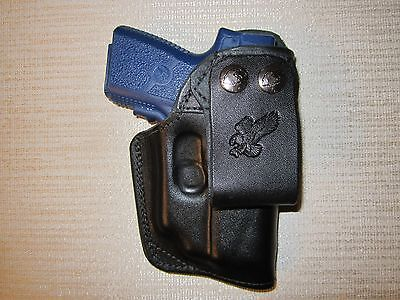 KAHR PM9 & CM9 with CT laser, iwb belt snap, right hand holster
