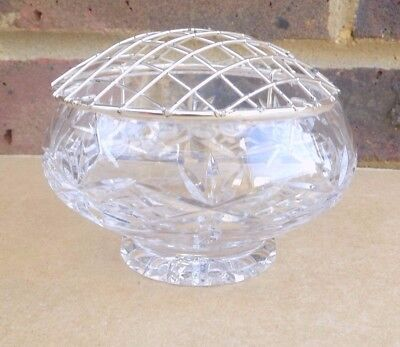 Crystal Glass Flower Bowl