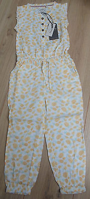 Fat Face girl summer playsuit jumpsuit  4-5 y BNWT