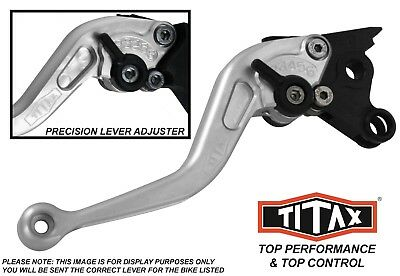 Ducati 749 Dark 2004 Titax Short Silver Performance Race Clutch Lever Radial