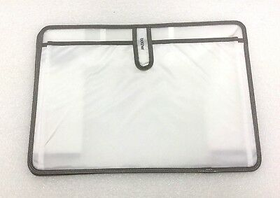 Brother Universal Sewing Machine Plastic Dust Cover Clear with Pocket