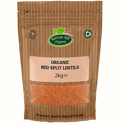 Organic Red Split Lentils Certified Organic