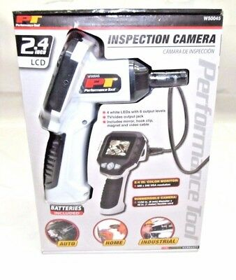 """Performance Tool W50045 2.4"""" LCD Inspection Camera"""