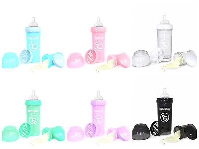 Twistshake Twist Shake Baby Bottle anti-colic Teat Breastfeeding to Bottle 260ml