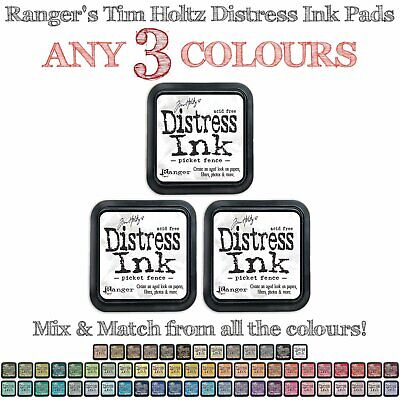 Tim Holtz Distress Ink Pads - 3 Colours - Choose Your Own