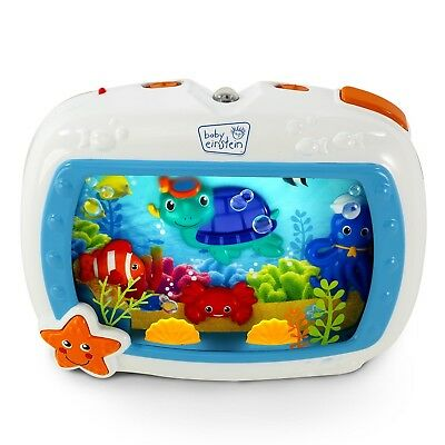 Sound Soother Baby Crib Sleep Portable Dream Bedtime Ocean Music Lullaby Light
